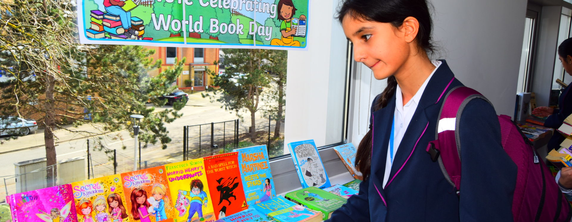 Writers' visit to celebrate World Book Day